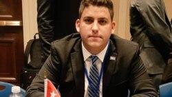Activista cubano en foro sobre juventud y democracia