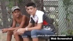 Jóvenes captados por el lente de Ramón Olivares Abello.