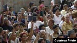 Continúan las detenciones arbitrarias a la oposición en las isla tras la visita del Papa Francisco