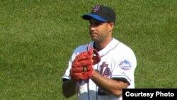 Foto de archivo del lanzador cubano Raúl Valdés.