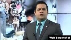 Humberto López, durante su sección en el NTV. (Captura de Video/YouTube)