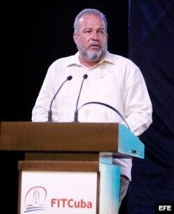 El ministro de Turismo de Cuba, Manuel Marrero