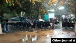 Reporta Cuba. Iglesias bajo lluvia y sol. Foto: Yiorvis Bravo.