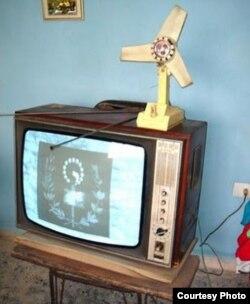 Televisores en blanco y negro Krim y ventiladores que realmente eran para descongelar los refrigeradores conforman la herencia rusa en Cuba.