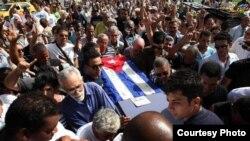 En el funeral de Oswaldo Paya la oposición cubana cerró filas.
