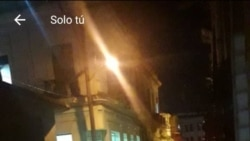 Desalojo en San Isidro. (Maykel González Vivero/Twitter)