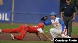 Un partido entre Cuba y Corea del Sur