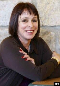 Alina Fernández, hija de Fidel Castro.