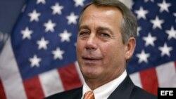 Líder de los republicanos en Congreso de EE.UU.John Boehner, Washington,12 de diciembre del 2012