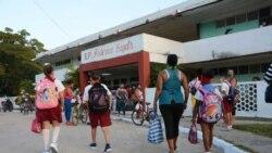 Madres opinan sobre el reinicio del curso escolar en Cuba