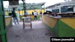 Agro-mercado en el municipio de Guanabacoa.