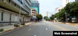 La Habana amanece desierta ante el regreso a la fase de transmisión autóctona del COVID 19.