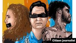 Reporta Cuba. Campaña en redes por #FreeTaniaAngelElSexto.