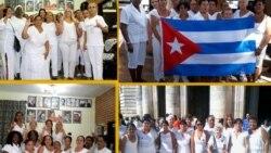 Decenas de activistas de las Damas de Blanco detenidas el domingo