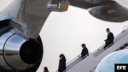Obama regresa a EEUU tras gira por Cuba y Argentina.