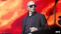 El cantante estadounidense de origen cubano Armando Christian Pérez , más conocido como Pitbull