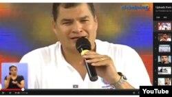 La Sabatina de Rafael Correa