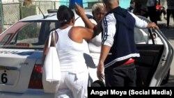 Damas de Blanco son detenidas en La Habana. (Archivo)