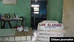 Reporta Cuba. Cafetería en Los Arabos, Matanzas. Foto: Daniel Domínguez.