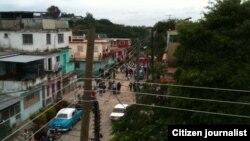 Acto de repudio Reporta Cuba Foto Angel Moya