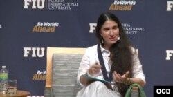 Yoani Sánchez en FIU.