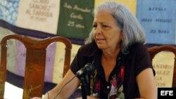 Martha Beatriz Roque. Archivo.