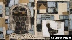 Posado en tierra (2006), obra del artista cubano Roberto Diago.