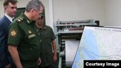 Shoigu revisa instalación de estudios topográficos en Nicaragua.
