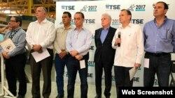 Directivos del Consejo de la Empresa Privada de Honduras exigen resultados finales elecciones del pasado domingo