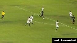 Cuba vs México en el premundial Sub-17 Panamá 2013.