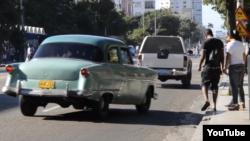 Reporta Cuba los almendrones