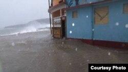 Irma impacta el oriente de Cuba