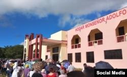 Hogar Monseñor Adolfo. Tomada de Facebook Parroquia Nuestra Señora de La Caridad, Camagüey Cuba.