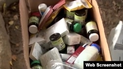 #PorCienfuegos ha recolectado más de 600 libras de medicinas para enviar a Cuba. (Captura de video/Telemundo51)