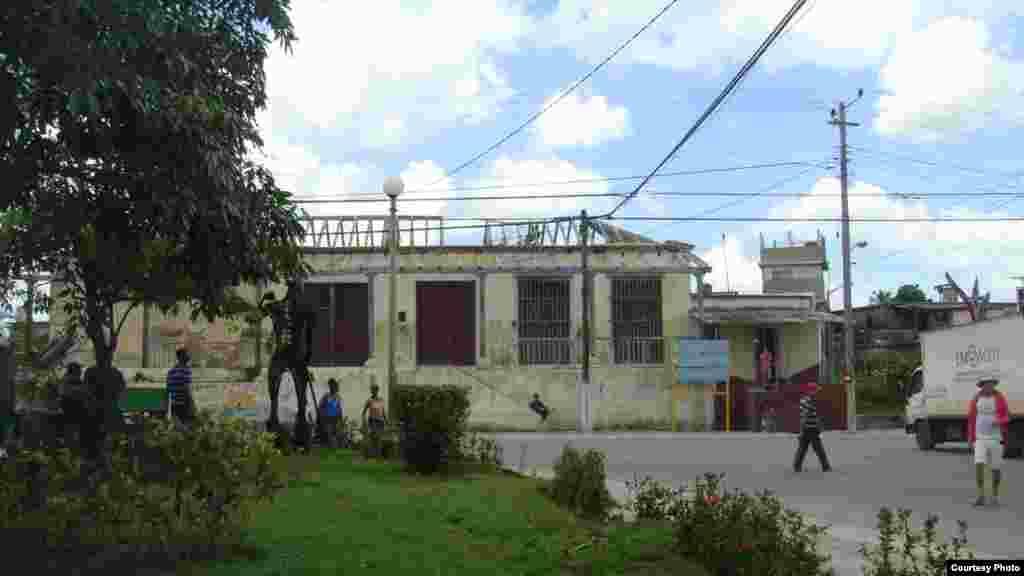 Vista del pueblo de Mariel