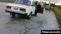 Escena de un accidente en la Autopista Nacional. (Archivo)