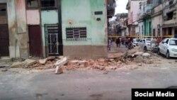 Imagen del lugar de la tragedia tomada de un video de Paparazzi Cubano.