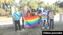 Fundación Cubana por los Derechos LGBTI. Foto Cortesía de Nelson Gandulla.