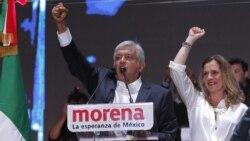 En México, la victoria de Andrés Manuel López Obrador en las elecciones presidenciales ha llevado a un líder izquierda a la presidencia