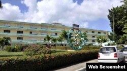 Hospital provincial clínico quirúrgico Manuel Ascunce Domenech, en Camagüey.