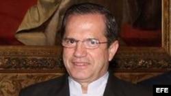 El canciller de Ecuador, Ricardo Patiño.