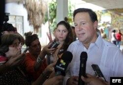Juan Carlos Varela, en Cuba.