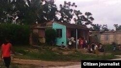 Reporta Cuba. Comunidad Los Pinareños, en San Antonio de los Baños. Foto: Bárbara Fernández.