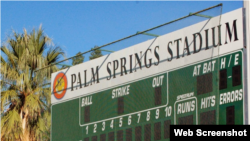 Palm Springs Stadium, California.
