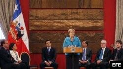 Intervención de Michelle Bachelet en el acto de firma del proyecto de Ley que crea el Sistema Nacional de Gestión de Riesgos.