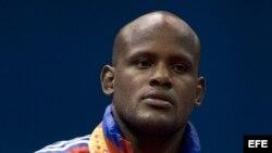 El judoca cubano Oreydi Despaigne