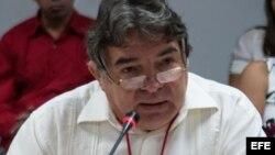 Julián González Toledo, ministro de Cultura de Cuba.