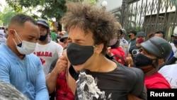 Levantamiento popular en Cuba. (REUTERS/Stringer).