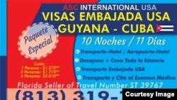 Agencia ASC promueve turismo a Guyana desde EEUU.