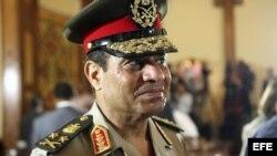 Foto de archivo tomada del ministro de Defensa egipcio, Abdel Fatah el Sisi